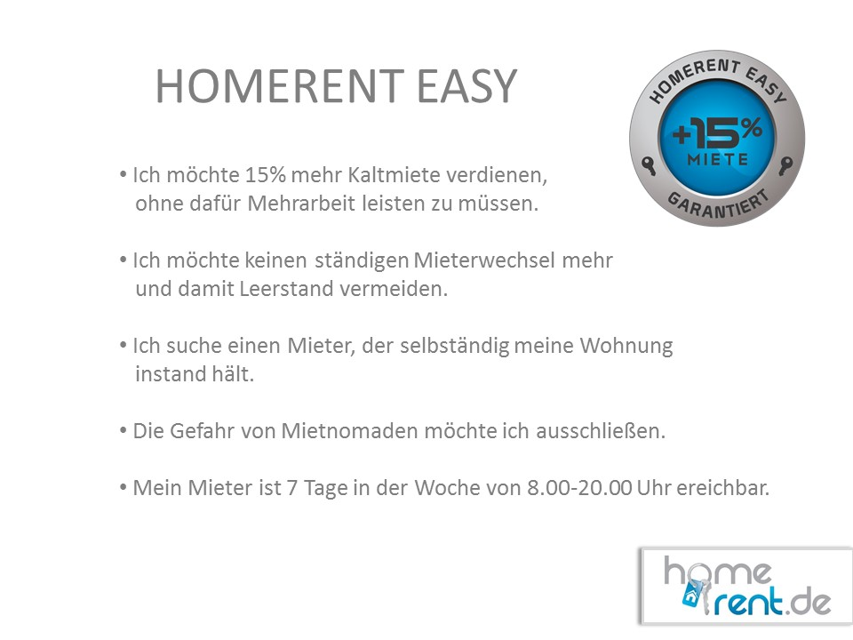 Homerent Easy fragen