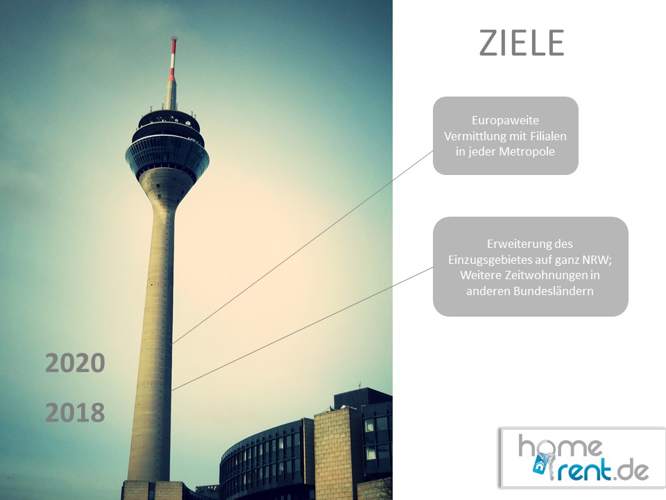 Homerent Ziele